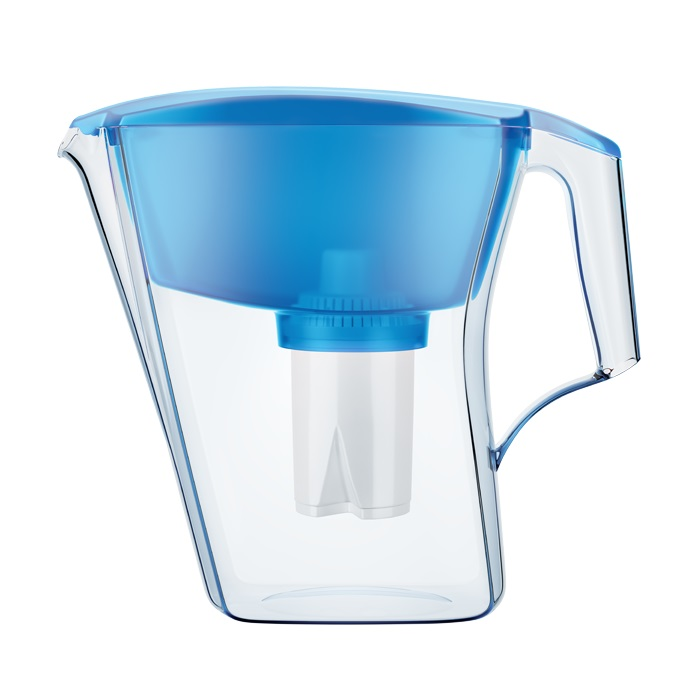 Фильтр для воды Аквафор Лайн кувшин голубой
