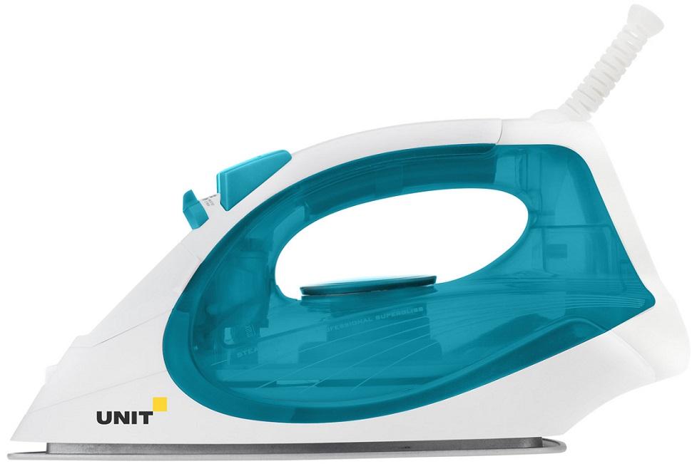 лучшая цена Утюг UNIT USI-280, Цвет - Морская волна; 2200Вт, Подошва - Керамическое покрытие, самоочистка, анти-накипь, анти-капля, вертикальное отпаривание