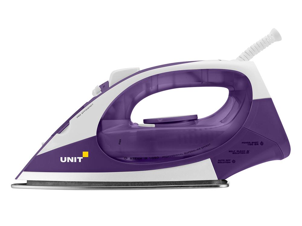 лучшая цена Утюг UNIT USI-282, Цвет - Фиолетовый; 2200Вт, Подошва - Керамическое покрытие, самоочистка, анти-накипь, анти-капля, вертикальное отпаривание