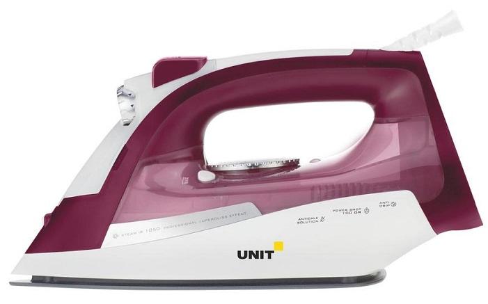 лучшая цена Утюг UNIT USI-285 Вишнёвый