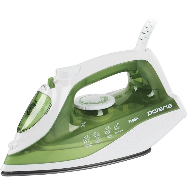 Утюг Polaris PIR 2186 2100Вт зеленый цены онлайн