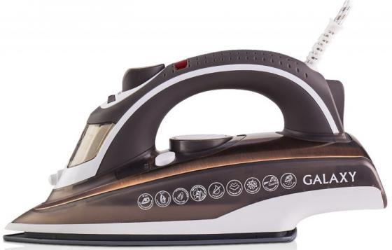 Утюг GALAXY GL6114 2400Вт коричневый утюг supra is 2402 2400вт