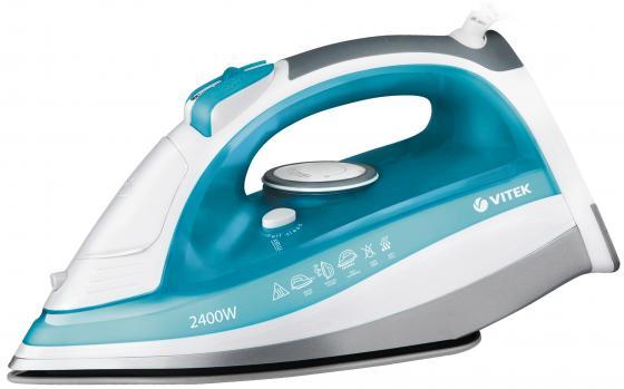 Утюг Vitek VT-1264 W 2400Вт Голубой цены онлайн