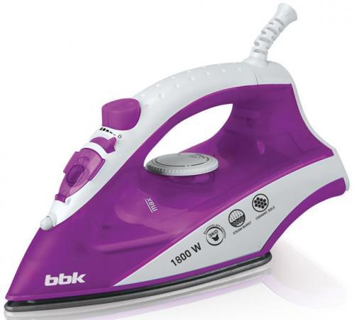 Утюг BBK ISE-1802 1800Вт фиолетовый цена