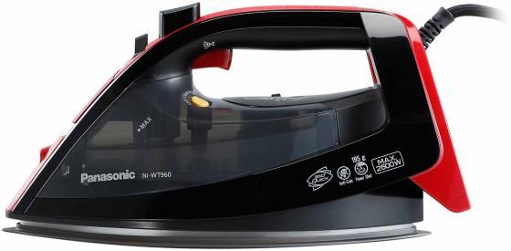 Утюг Panasonic NI-WT960RTW 2600Вт чёрный красный утюг браун 775