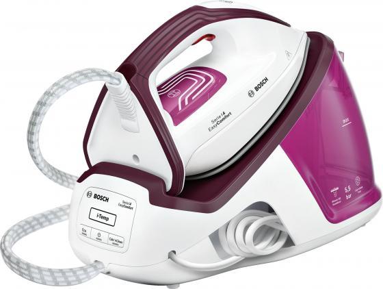 Гладильная система Bosch TDS4020 2400Вт розовый фиолетовый гладильная система bosch tds 4050 serie 4 easycomfort