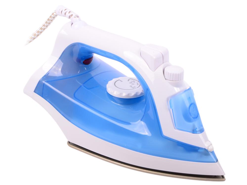 Утюг BBK ISE-1801 1800Вт белый голубой цена