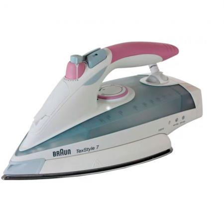 Утюг Braun TS755EA White-pink 2400 Вт, 400 мл, 200 г/мин