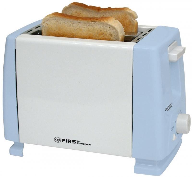 Тостер First 5366 синий тостер first fa 5366 black