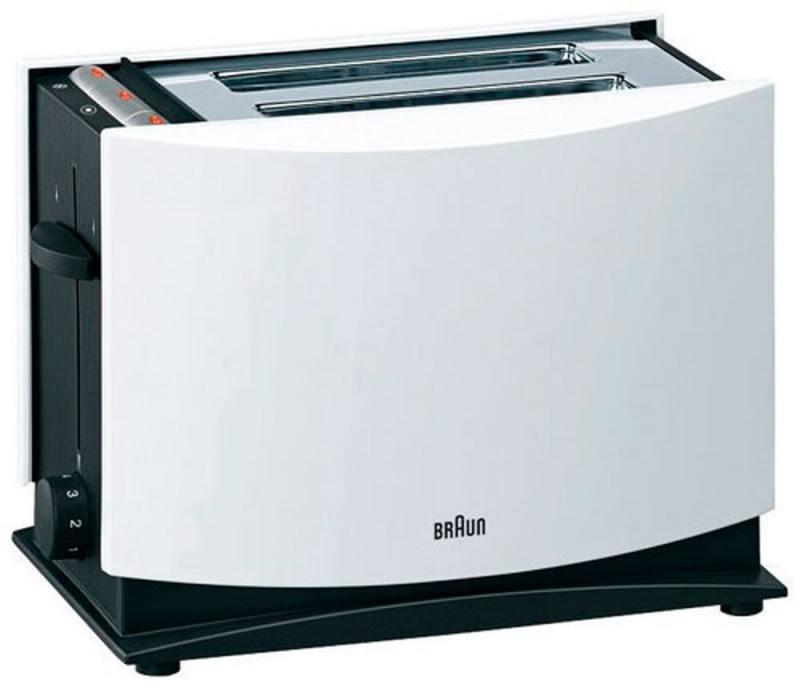 Тостер Braun HT 400 белый braun ht 400