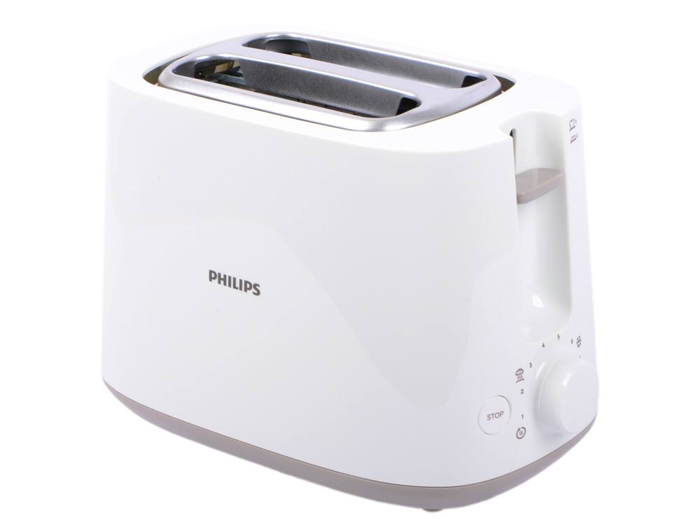 Тостер Philips HD2581/00, белый, 900 Вт [HD2581/00] philips shb3075rd 00