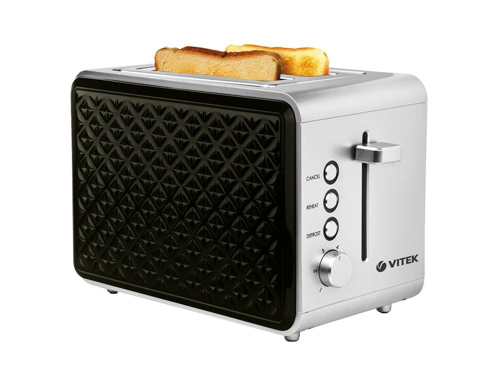 Тостер VITEK VT-7156(SR) тостер vitek vt 7156