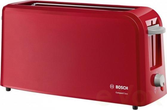 лучшая цена Тостер Bosch TAT 3A004 красный
