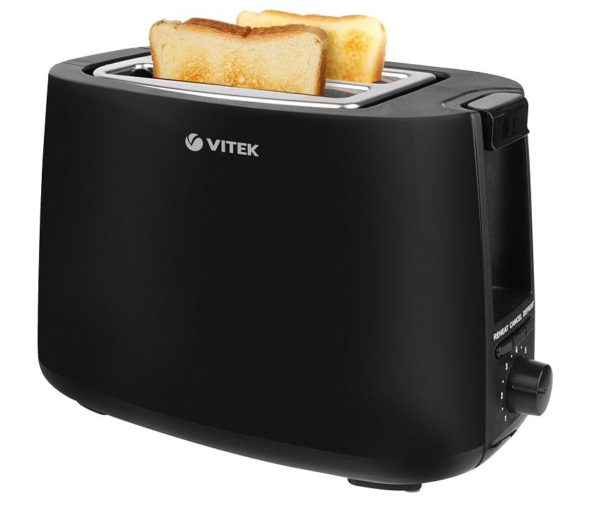 лучшая цена Тостер Vitek VT-7157(BK) 700 Вт