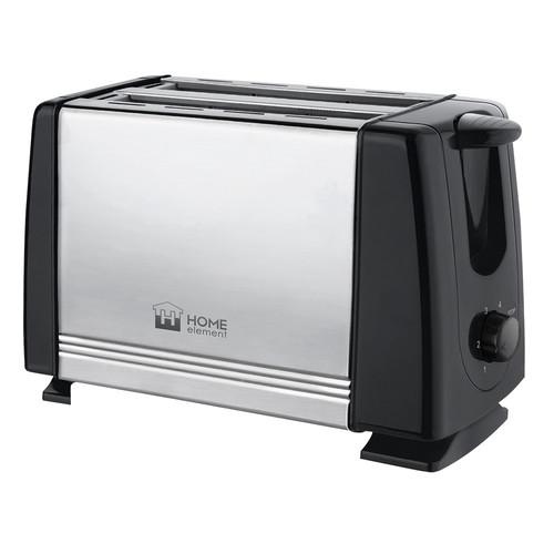 все цены на Тостер Home Element HE-TS500 черный жемчуг онлайн