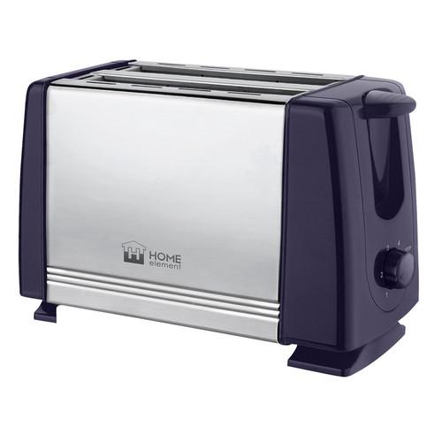 все цены на Тостер Home Element HE-TS500 темный топаз онлайн