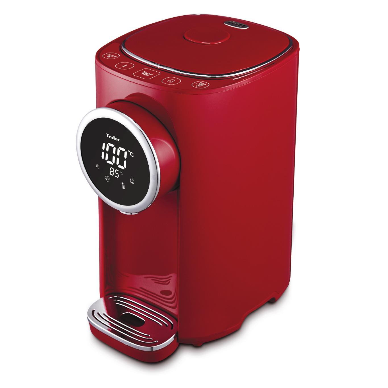 Термопот Tesler TP-5055 Red 5 литров, 1200 Вт, быстрое кипячение/охлаждение термопот tesler tp 3001