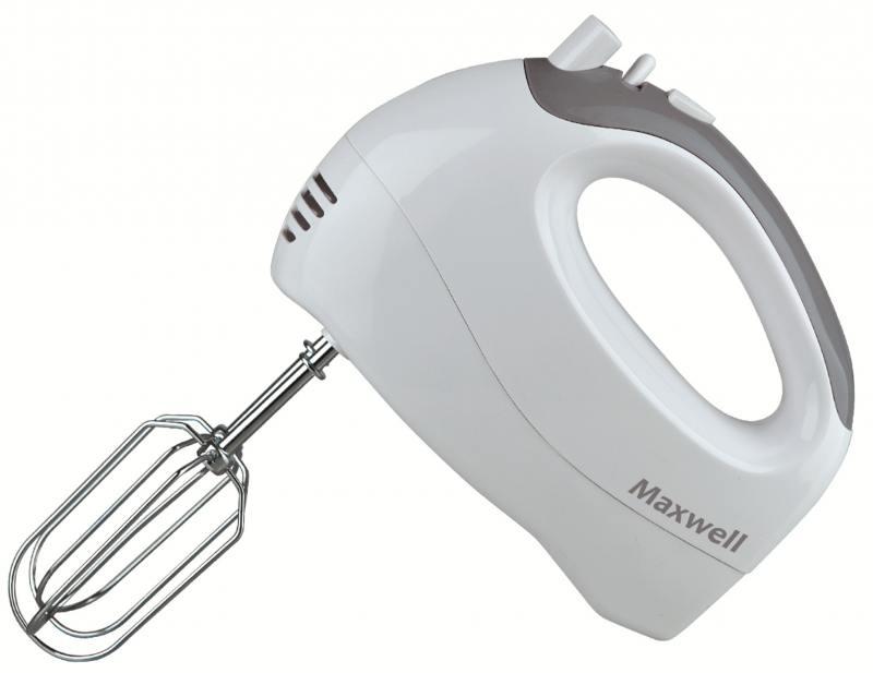 Миксер ручной Maxwell MW-1356 W 300 Вт белый мясорубка maxwell mw 1263 w 1800 вт
