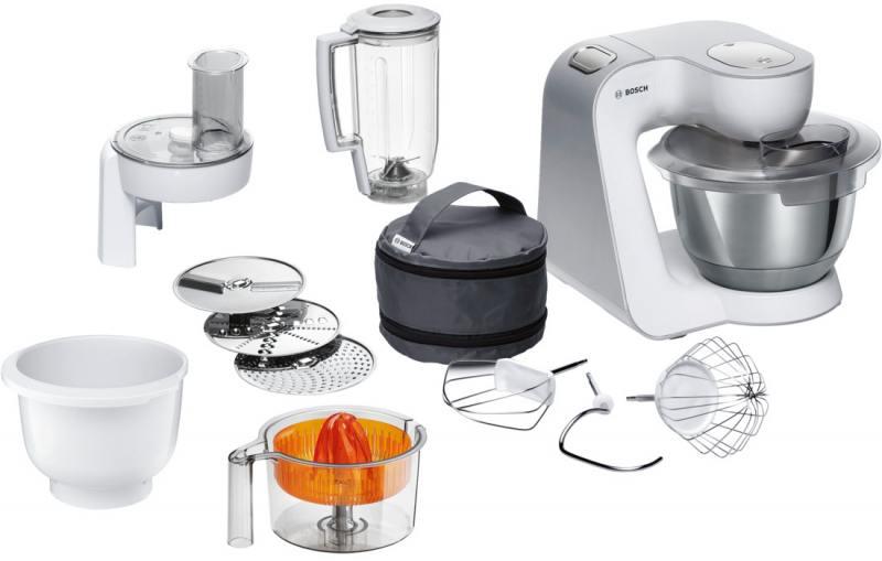 Кухонный комбайн Bosch MUM58243 1000 Вт белый [MUM58243] цена 2017