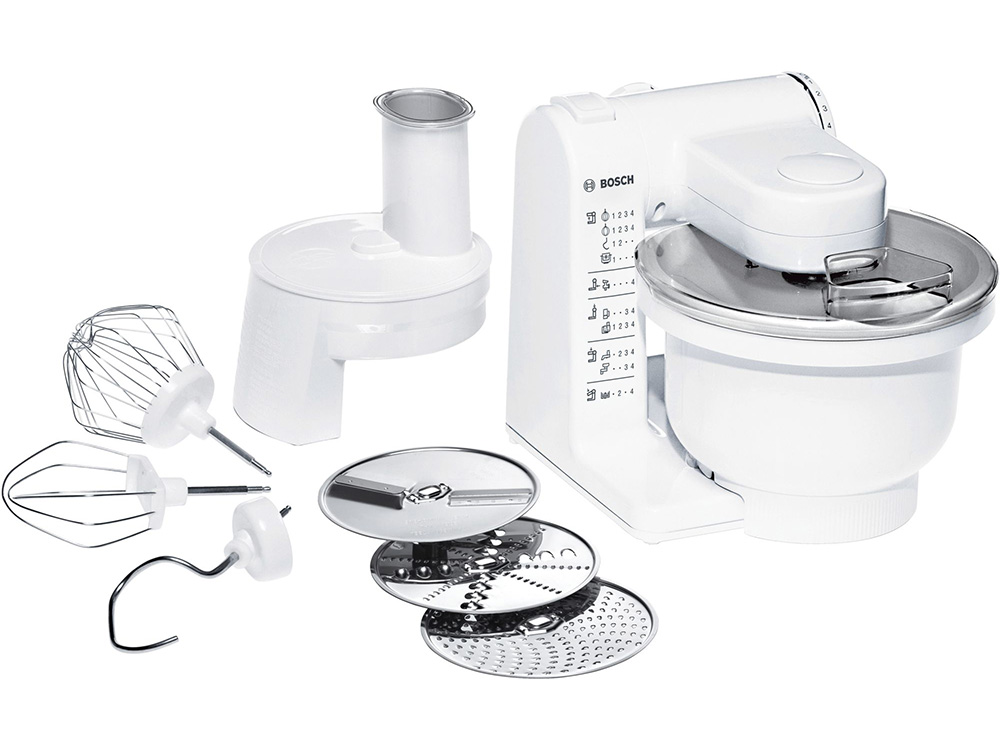 Кухонный комбайн Bosch MUM4426 500 Вт белый цена