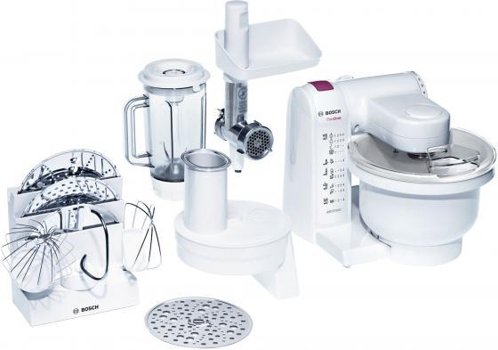 Кухонный комбайн Bosch ProfiMixx MUM4657 550Вт белый цена 2017