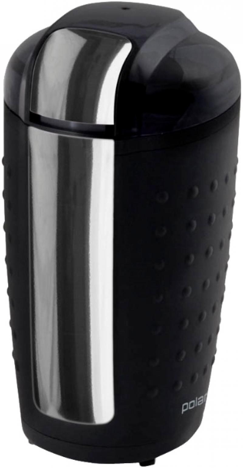 лучшая цена Кофемолка Polaris PCG 1420 200 Вт черный