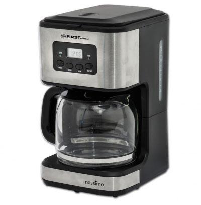 Кофеварка First FA-5459-4 900 Вт серый цена и фото