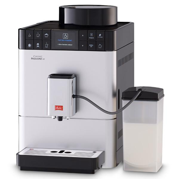Кофемашина Melitta Caffeo F 531-101 Passione Onetouch серебро 1450 Вт, 1.2 л