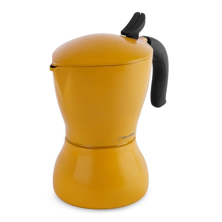 Гейзерная кофеварка Rondell RDS-1116 9 чашек Sole
