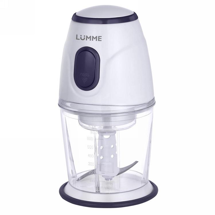 Измельчитель Lumme LU-1843 синий сапфир 300 Вт, 0.6 л цена и фото