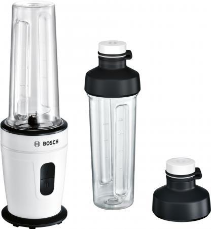 Блендер стационарный Bosch MMBM401W 350Вт белый черный блендер стационарный philips hr2874 00 350вт серый белый