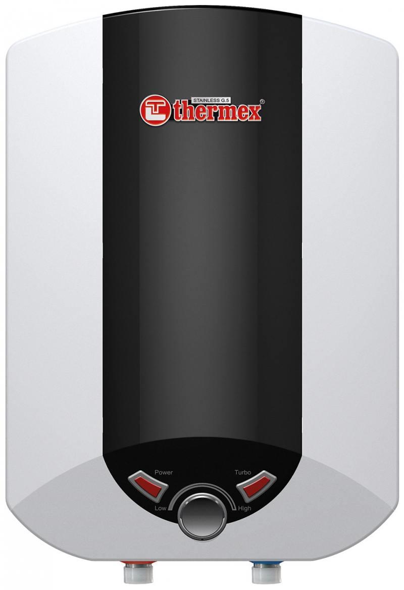 Водонагреватель накопительный Thermex IBL 10 O 10л 2.5кВт черно-белый аквариум aquael shrimp set smart 10 белый 20х20х25см 10л