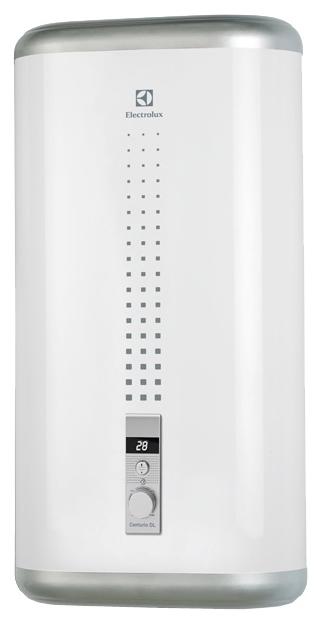 Водонагреватель накопительный Electrolux EWH 30 Centurio DL 30 л., плоский, белый, 2 кВт., электронное упр. цена и фото