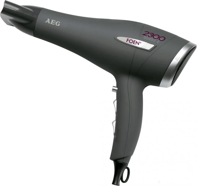 Фен AEG HT 5580 anthrazit цена