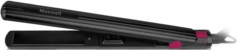 Щипцы Maxwell MW-2218 BK 30Вт чёрный щипцы для завивки волос maxwell mw 2409 bk 39вт черный