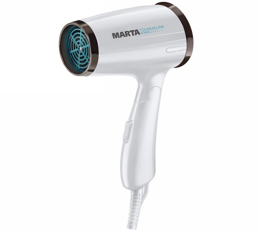 Фен Marta MT-1430 белый жемчуг цена