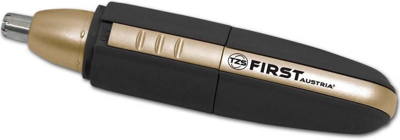 Триммер First FA-5680-2 чёрный золотистый