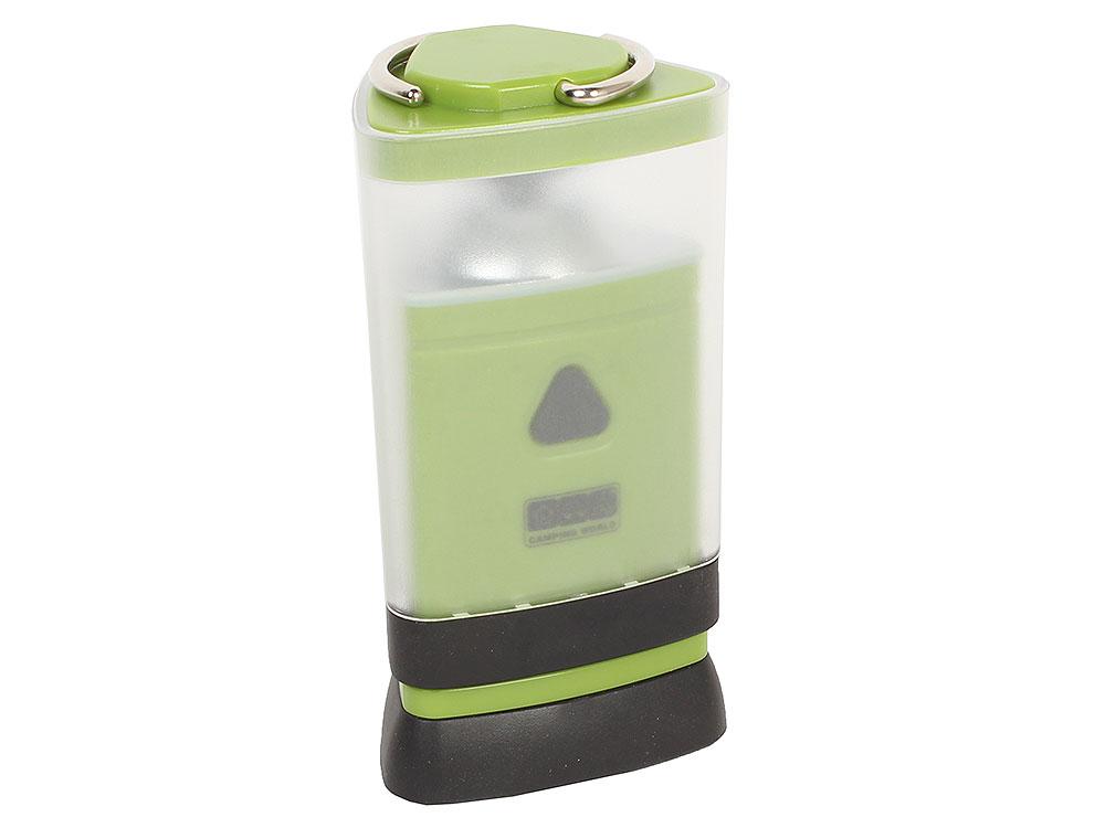 Универсальная складная лампа CW LightHouse COMPACT (60 Lum, 3 режима, влагостойкая, ударопрочная, источник питания 4 батарейки типа AАA-в комплект не фото