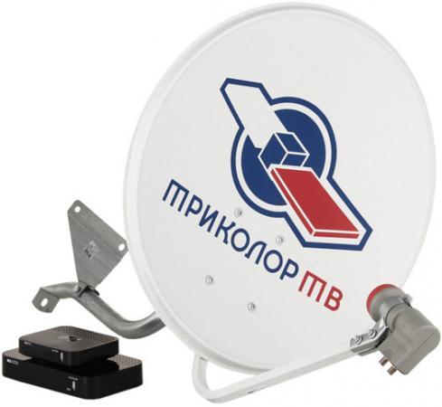 купить Комплект спутникового телевидения Триколор GS B532M + GS C592 Европа комплект на 2 ТВ черный дешево