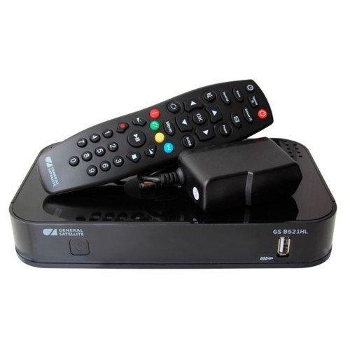 купить Комплект спутникового телевидения Триколор Full HD GS B521HL + HDD Дальний Восток черный дешево