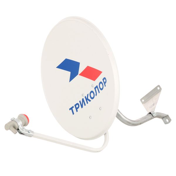 Комплект спутникового телевидения Триколор UHD Европа с модулем условного доступа антенна для цифрового тв триколор uhd европа с модулем условного доступа