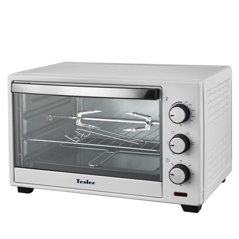 купить Мини-печь TESLER EOG-2900 WHITE, 1500 Вт., 29 л., 100 - 230°С недорого
