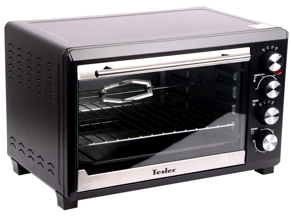 Мини-печь TESLER EOG-3800 BLACK, 2000 Вт., 38 л., 100-250°С цена и фото