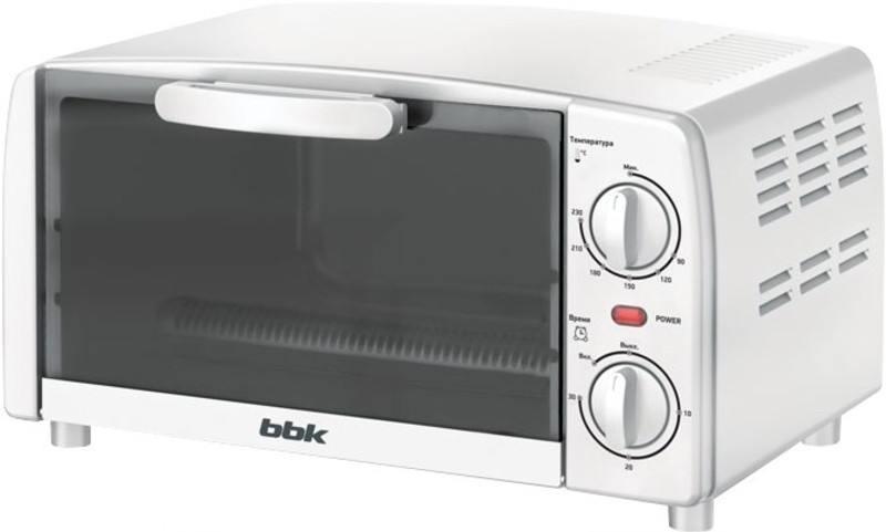 Мини-печь BBK OE0912M белый