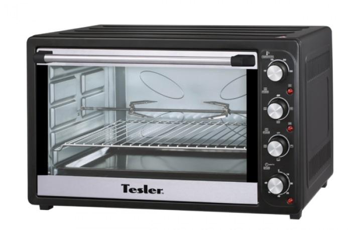 Мини-печь TESLER EOGC-8000 Black цена и фото
