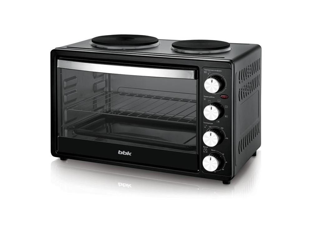 все цены на Мини-печь BBK OE3071M-2P черный онлайн