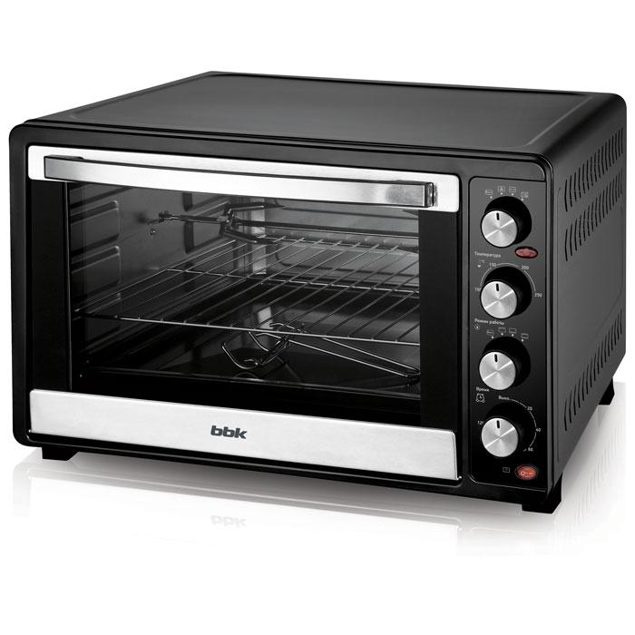 Мини-печь BBK OE5562MC черный микроволновая печь bbk 23mws 927m w 900 вт белый