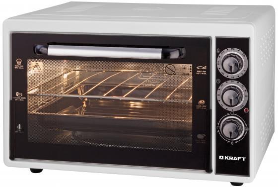 лучшая цена Мини-печь Kraft KF-MO 3801 W белый