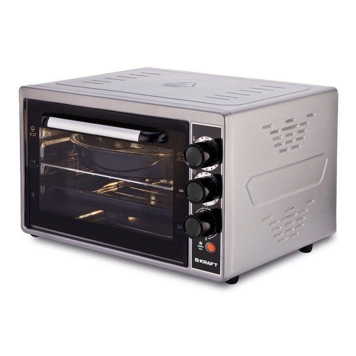 цена на Мини-печь Kraft KF-MO 3803 KGR серый