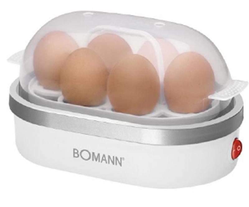 Яйцеварка Bomann EK 5022 CB weis-silber перцемолка bomann psm 437 n cb pfeffer salzmuhl
